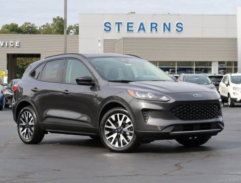 2020 Ford Escape Hybrid for sale at Stearns Ford in Burlington NC