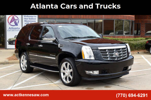 2014 Cadillac Escalade for sale at Atlanta Cars and Trucks in Kennesaw GA