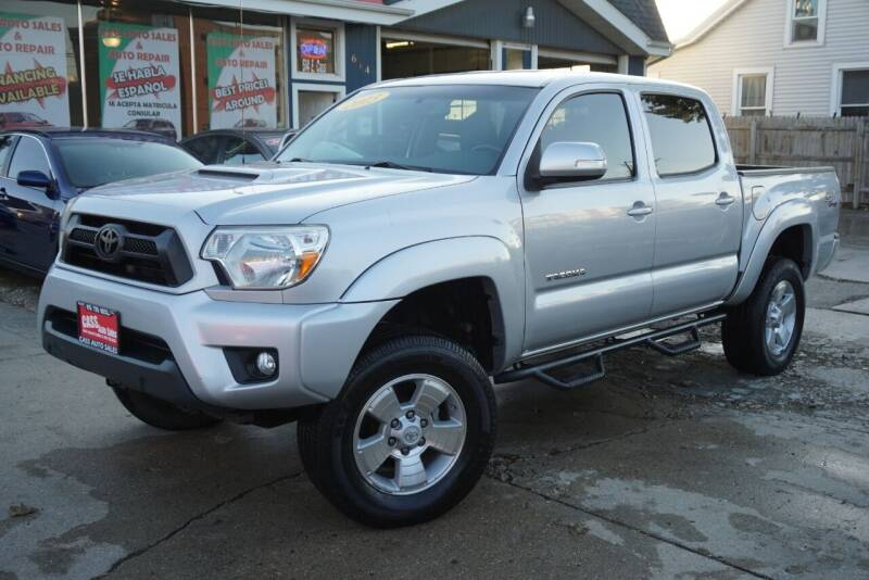 2013 Toyota Tacoma for sale at Cass Auto Sales Inc in Joliet IL