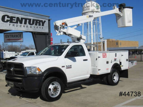 2018 RAM Ram Chassis 4500 for sale at CENTURY TRUCKS & VANS in Grand Prairie TX