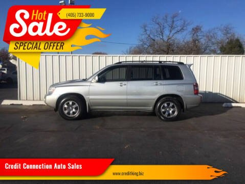 2005 Toyota Highlander for sale at Credit Connection Auto Sales in Midwest City OK