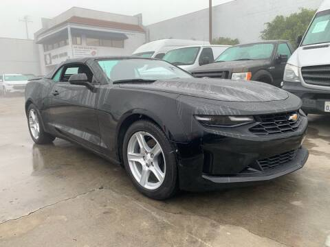 2020 Chevrolet Camaro for sale at Best Buy Quality Cars in Bellflower CA
