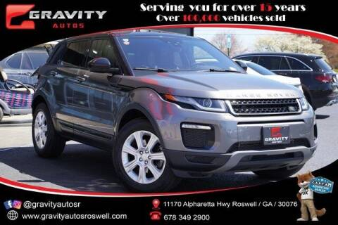 2017 Land Rover Range Rover Evoque for sale at Gravity Autos Roswell in Roswell GA