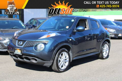 2011 Nissan JUKE for sale at Del Sol Auto Sales in Everett WA