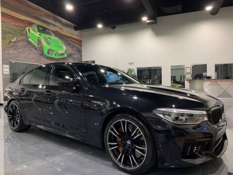 2018 BMW M5 for sale at Godspeed Motors in Charlotte NC