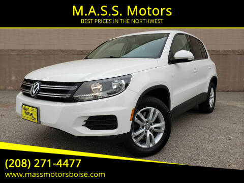 2012 Volkswagen Tiguan for sale at M.A.S.S. Motors in Boise ID