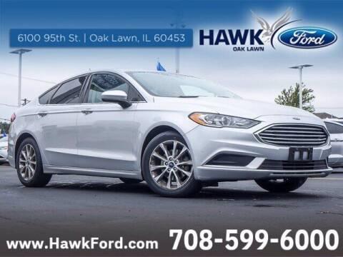 2017 Ford Fusion for sale at Hawk Ford of Oak Lawn in Oak Lawn IL