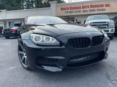 2014 BMW M6 for sale at North Georgia Auto Brokers in Snellville GA