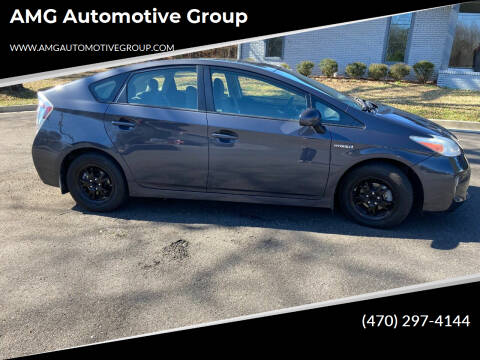 2012 Toyota Prius for sale at AMG Automotive Group in Cumming GA