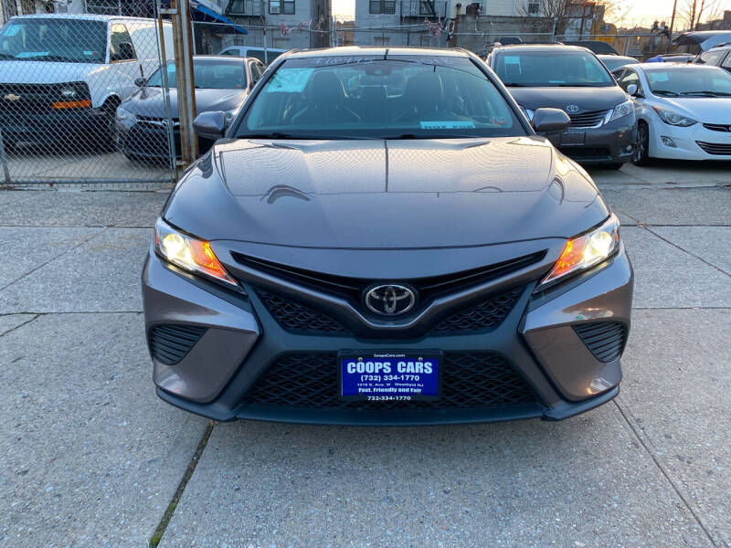 2018 Toyota Camry for sale at Luxury 1 Auto Sales Inc in Brooklyn NY