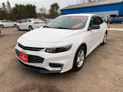 2017 Chevrolet Malibu for sale at AutoMile Motors in Saco ME