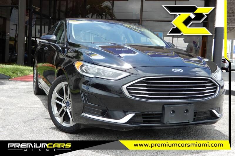 2020 Ford Fusion for sale at Premium Cars of Miami in Miami FL