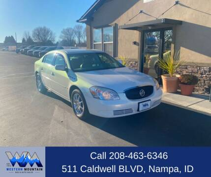 2007 Buick Lucerne for sale at Western Mountain Bus & Auto Sales in Nampa ID