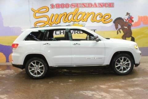 2016 Jeep Grand Cherokee for sale at Sundance Chevrolet in Grand Ledge MI