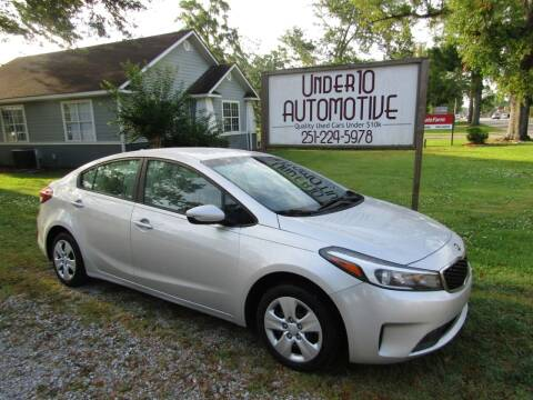 2017 Kia Forte for sale at Under 10 Automotive in Robertsdale AL
