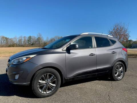 2014 Hyundai Tucson for sale at LAMB MOTORS INC in Hamilton AL