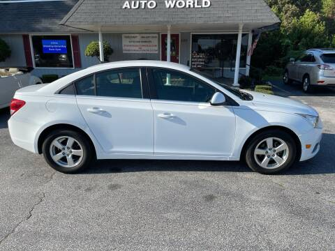 2012 Chevrolet Cruze for sale at STAN EGAN'S AUTO WORLD, INC. in Greer SC