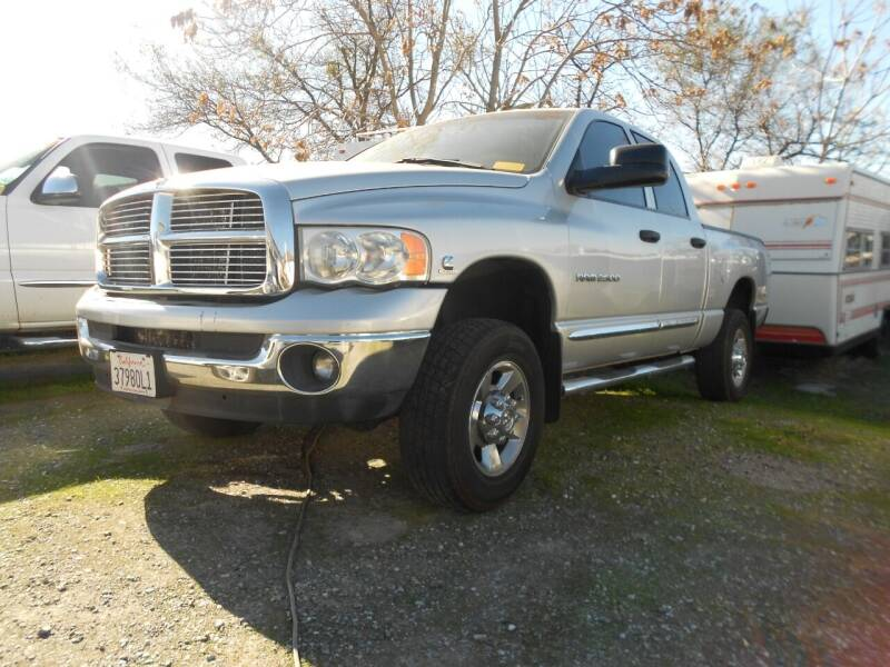 2005 Dodge Ram Pickup 2500 for sale at Mountain Auto in Jackson CA