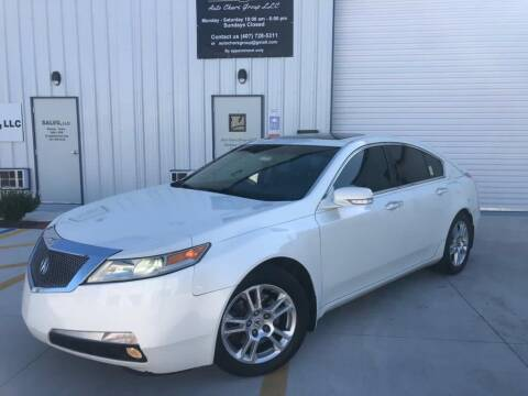2010 Acura TL for sale at Auto Chars Group LLC in Orlando FL