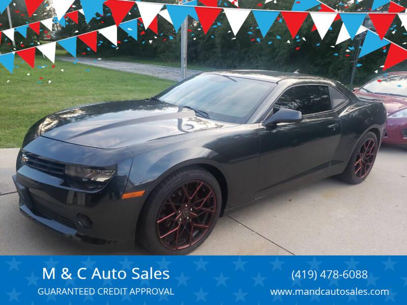 2014 Chevrolet Camaro for sale at M & C Auto Sales in Toledo OH