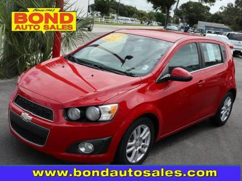 2012 Chevrolet Sonic for sale at Bond Auto Sales in St Petersburg FL