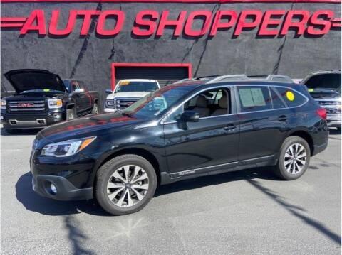 2017 Subaru Outback for sale at AUTO SHOPPERS LLC in Yakima WA