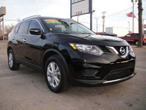 2015 Nissan Rogue for sale at AUTO BARGAIN, INC. #2 in Oklahoma City OK