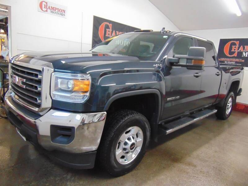2017 GMC Sierra 2500HD for sale at Champion Motors in Amherst NH