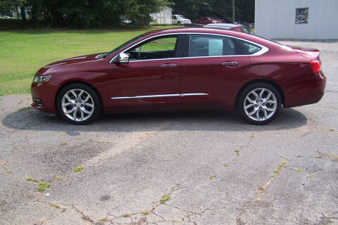 2017 Chevrolet Impala for sale at Blackwood's Auto Sales in Union SC