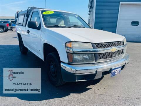 2008 Chevrolet Colorado for sale at Transportation Center Of Western New York in Niagara Falls NY