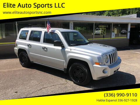 2009 Jeep Patriot for sale at Elite Auto Sports LLC in Wilkesboro NC