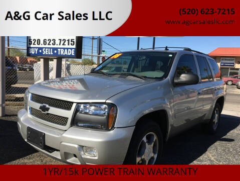 2008 Chevrolet TrailBlazer for sale at A&G Car Sales  LLC in Tucson AZ