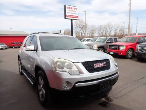 2009 GMC Acadia for sale at Marty's Auto Sales in Savage MN