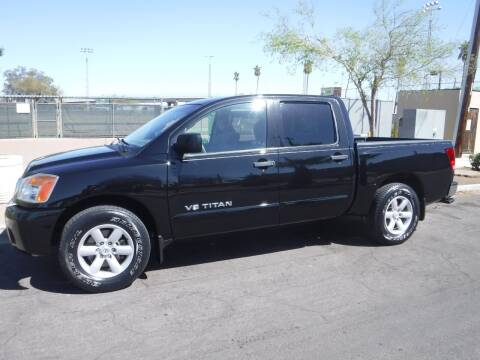 2012 Nissan Titan for sale at J & E Auto Sales in Phoenix AZ