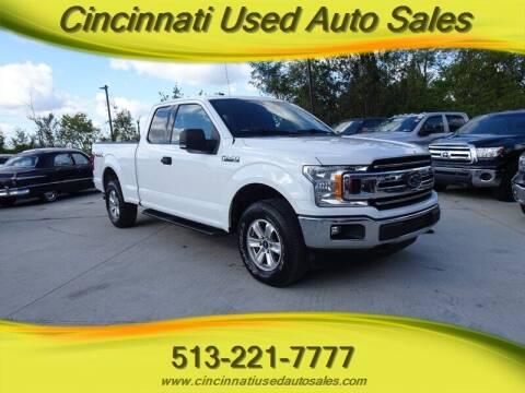 2018 Ford F-150 for sale at Cincinnati Used Auto Sales in Cincinnati OH
