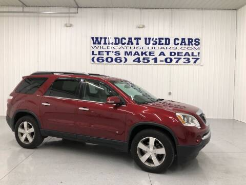 2009 GMC Acadia for sale at Wildcat Used Cars in Somerset KY