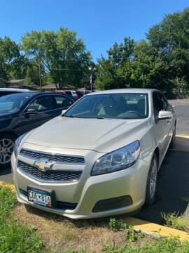 2013 Chevrolet Malibu for sale at Chinos Auto Sales in Crystal MN