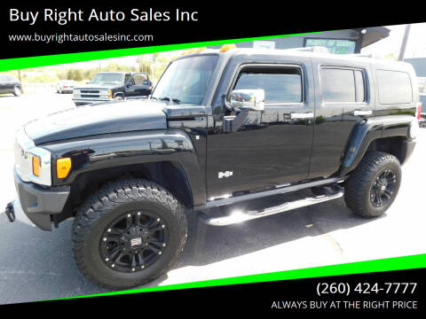 2008 HUMMER H3 for sale at Buy Right Auto Sales Inc in Fort Wayne IN