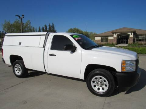 2012 Chevrolet Silverado 1500 for sale at Repeat Auto Sales Inc. in Manteca CA