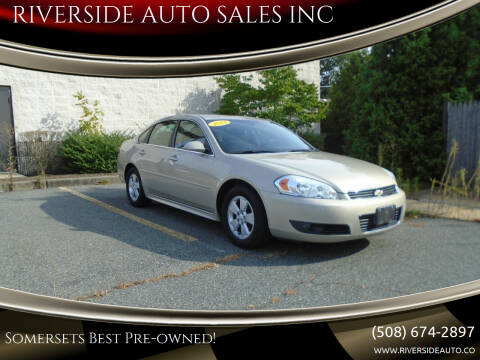 2011 Chevrolet Impala for sale at RIVERSIDE AUTO SALES INC in Somerset MA