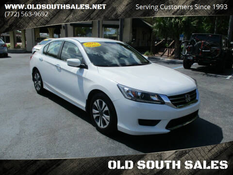 2015 Honda Accord for sale at OLD SOUTH SALES in Vero Beach FL
