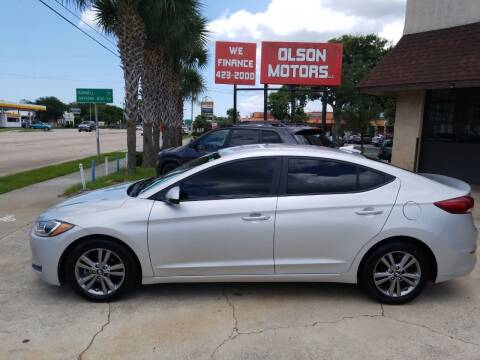 2017 Hyundai Elantra for sale at Olson Motors LLC in Saint Augustine FL