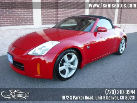 2007 Nissan 350Z for sale at SAM'S AUTOMOTIVE in Denver CO