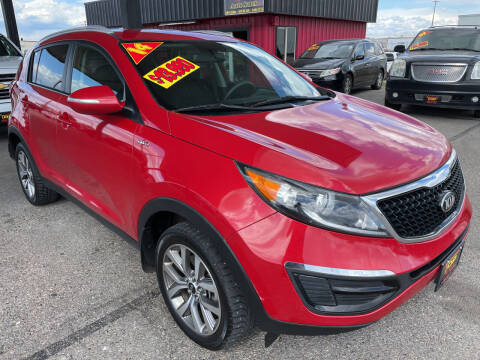 2014 Kia Sportage for sale at Top Line Auto Sales in Idaho Falls ID