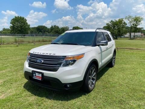2015 Ford Explorer for sale at LA PULGA DE AUTOS in Dallas TX