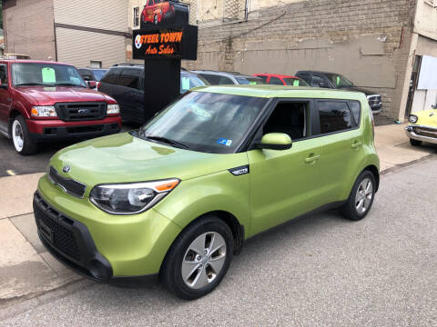 2016 Kia Soul for sale at STEEL TOWN PRE OWNED AUTO SALES in Weirton WV