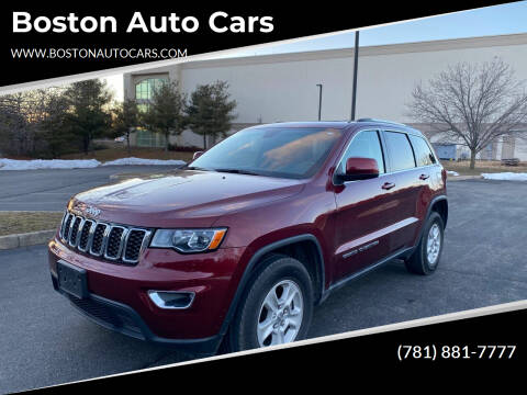 2017 Jeep Grand Cherokee for sale at Boston Auto Cars in Dedham MA