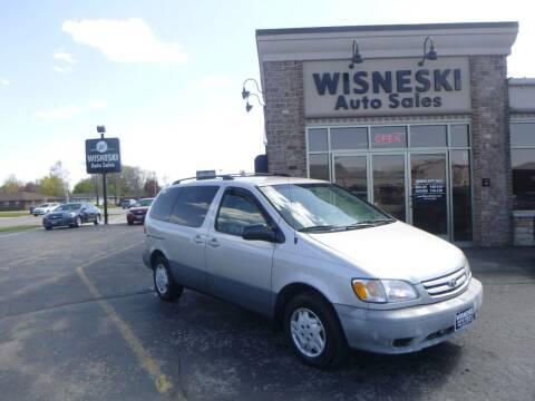 2002 Toyota Sienna for sale at Wisneski Auto Sales, Inc. in Green Bay WI