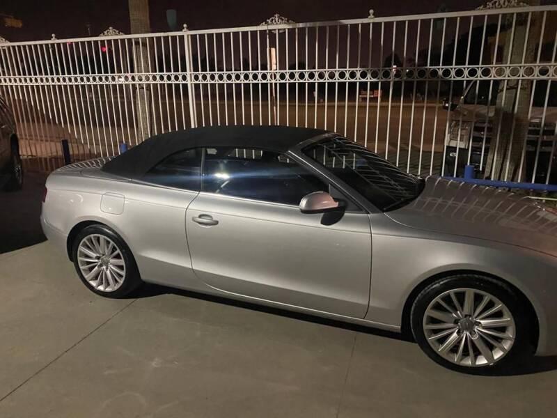 2010 Audi A5 for sale at Monaco Auto Center LLC in El Paso TX