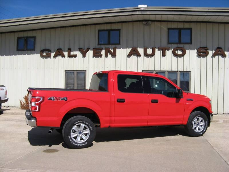 2020 Ford F-150 for sale at Galyen Auto Sales Inc. in Atkinson NE